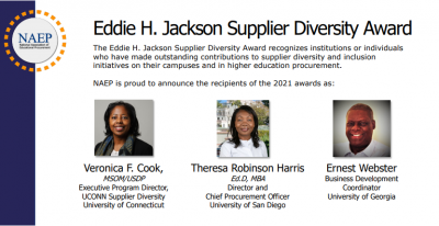 Eddie H. Jackson Supplier Diversity Award